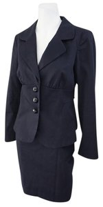 Cynthia Steffe Cynthia Steffe Navy Blue Skirt Suit Business Ready-To-Wear Size 6