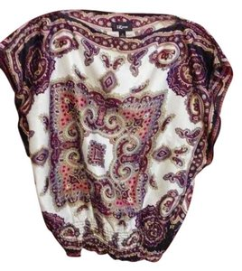 IZ Byer California Bohemian Boho Top Multi