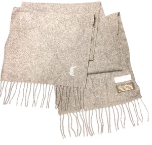 Saint Laurent Virgin Merino Wool Scarf