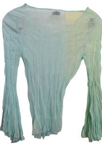 le fix Top sheer mint green