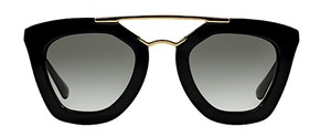 Prada PR 09QS 1AB0A7 - OVERSIZED Black Prada Cinema - Free 3 Day Shipping