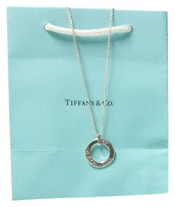Tiffany & Co. Tiffany & Co.925 Sterling Silver 1837 Circle Necklace