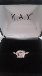 Kay Jewelers Rose Gold Engagement Ring