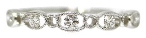 Other 18K White Gold 0.19Ct Diamond Ring 1.7 Grams Size 6.5