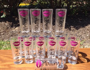 Bridal Party & Groomsmen Shot Glasses