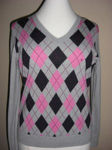 Brooks Brothers V-neck Argyle Sweater