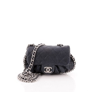 Chanel Chain Flap Leather Shoulder Bag