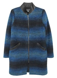 Fifteen Twenty Winter Ombre Holiday Trench Coat