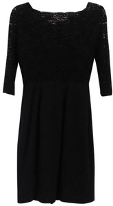 L.K. Bennett Silk Lace Dress