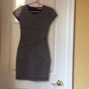 Rachel Roy short dress Black & Grey on Tradesy
