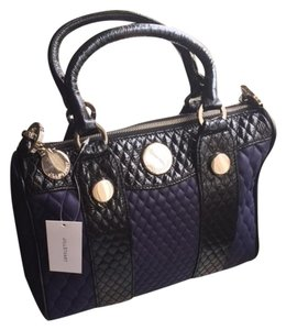 Jill Stuart Tote in Purple & Black