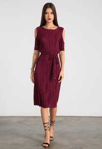 Other Holiday Pleated Dress