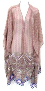 Patrons of Peace Beige Multi Top Multi-Colored