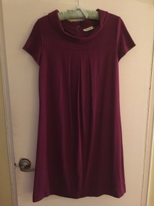 Calvin Klein short dress Burgundy Purple on Tradesy