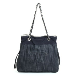 Chanel Limited Edition Tote in Denim Blue