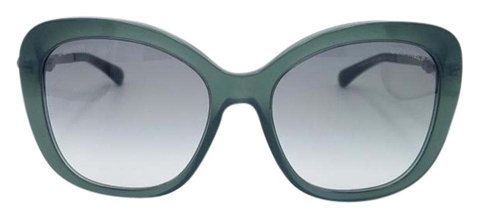 771e881d178 Chanel Green Pearl 5339-h C.1549 S3 55 Sunglasses 86% off retail