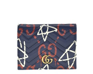 Gucci Ghost Quilted Card Case