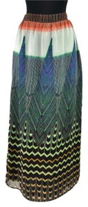 Maeve Geometric Maxi Skirt Multi-Color
