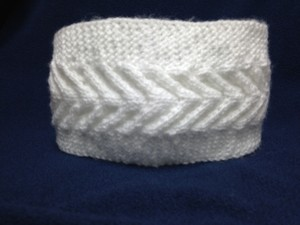 Other Hand Knitted ear warmer/headband. Size M