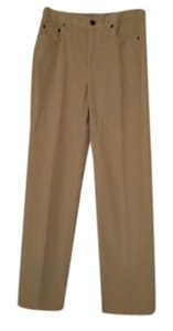 Talbots Straight Pants Ivory