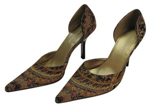 Highlights Size 7.00 M Very Good Condition Neutral, Brown, Black, Red, Pumps