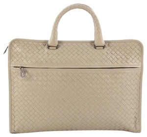 Bottega Veneta Slim Nappa Satchel