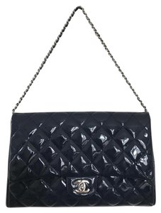 Chanel Dark Blue Clutch