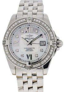 Breitling Breitling Colt Mother Of Pearl Diamond Dial/Bezel Ladies Watch