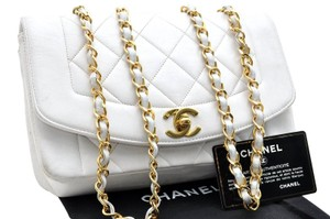 Chanel Matelasse Chain Lamb Skin Shoulder Bag