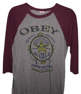 OBEY T Shirt Grey