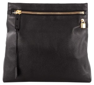 Tom Ford Leather Black Clutch