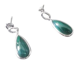 Other Sterling Silver Malachite Earrings