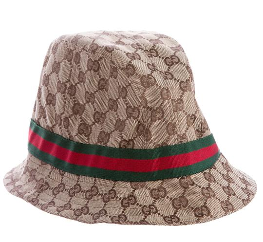 gucci beige brown guccissima monogram bucket hat. Black Bedroom Furniture Sets. Home Design Ideas