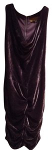 Nicole Miller Party Elegant Flapper Draped Ruched Dress