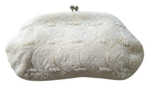 Other Vintage Beaded Glamour Ivory Clutch
