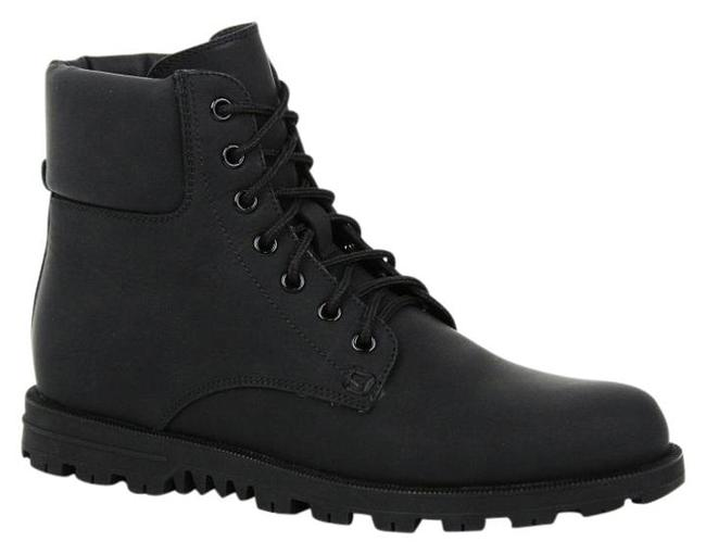 Item - Black New Rubberized Lace Up Ankle Web Detail It G/ 12.5 354321 1060 Boots/Booties Size EU 42 (Approx. US 12) Wide (C, D)