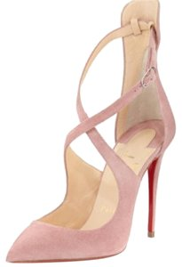 Christian Louboutin Suede pink Pumps
