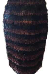 Burberry Prorsum/ perfect for the holidays/ fringe skirt Skirt Multi