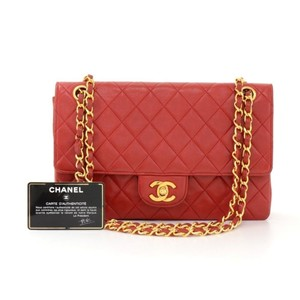 Chanel Double Flap Quilted Vintage Shoulder Bag