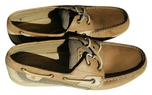 Sperry Boat Lace-up tan/beige Flats