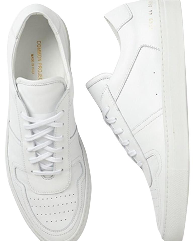 fb6bd2ff744d Common Projects White B Ball Low Top Sneaker Woman Sneakers Size US ...