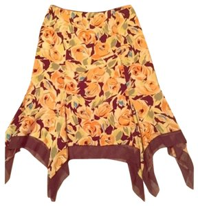 Nicole Miller Skirt Multi-Color