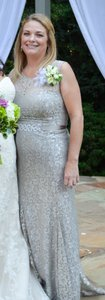 David's Bridal Silver Style A15534 Dress