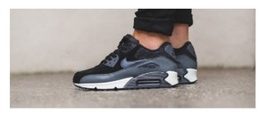 Nike Air Max Athleisure Suede Black gray Athletic