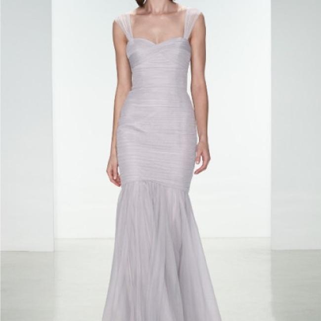 Item - Dove Tulle Sexy Bridesmaid/Mob Dress Size 8 (M)