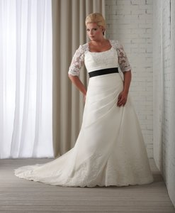 Bonny Bridal White 1209 Dress