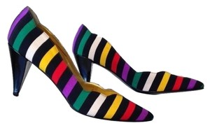 Neiman Marcus Multi-colored Pumps