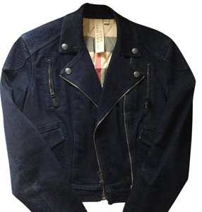 Burberry Navy blue Womens Jean Jacket