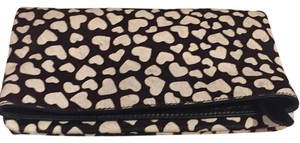 Alice + Olivia Black And White Clutch