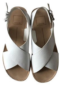 Dolce Vita White Sandals